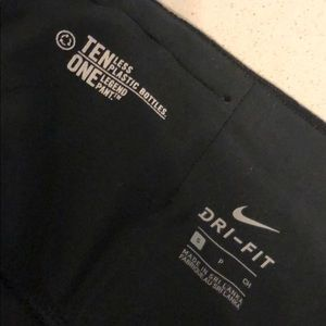 Black nike leggings size small
